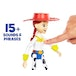 Disney Pixar Toy Story 4 True Talkers 7 Inch Figure - Jessie - Image 5