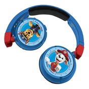 Lexibook HPBT010PA Paw Patrol Bluetooth & Wired Foldable Headphones