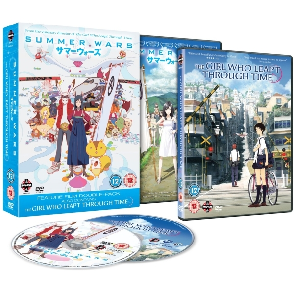 Summer Wars / The Girl Who Leapt Through Time DVD