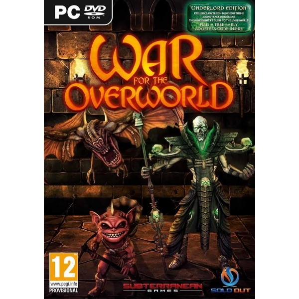 War for the Overworld Underlord Edition PC Game