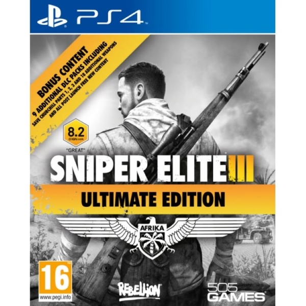 Image of Sniper Elite III Ultimate Edition PS4 Game