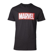 Marvel Logo Men's Large T-Shirt - Black