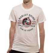 Dc Originals - Crazy Clown Chick Men's Small T-Shirt - White