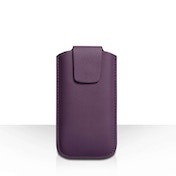 YouSave Lichee PU Leather Pouch (S) - Purple