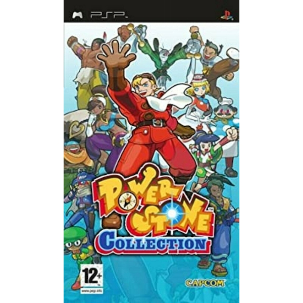 Power Stone Collection Game PSP [Used]