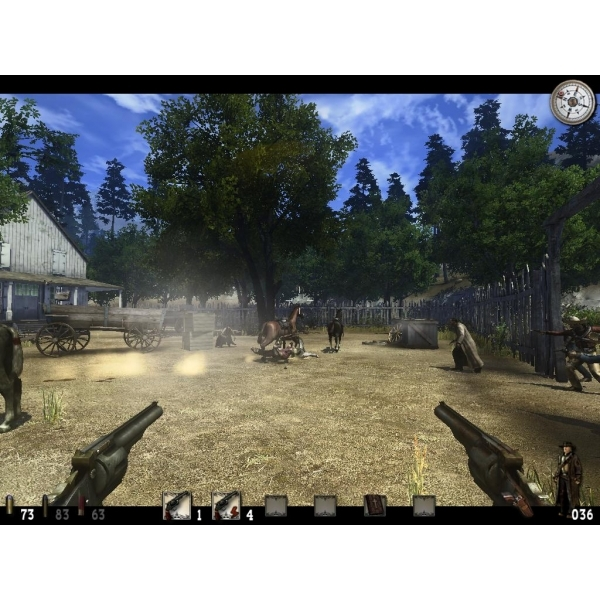 Call Of Juarez Bound In Blood Game PC - Image 2