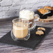 Double Walled 275ml Coffee Glasses with Handles - Set of 2   M&W - Image 3