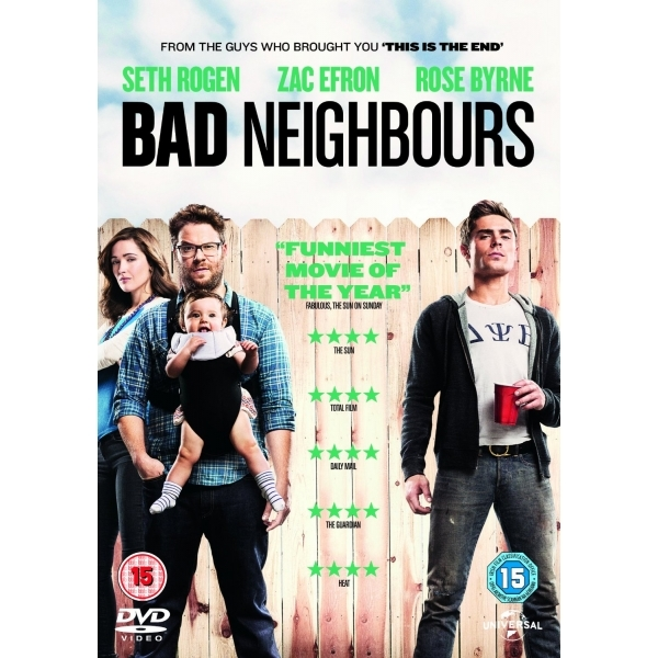 Bad Neighbours DVD
