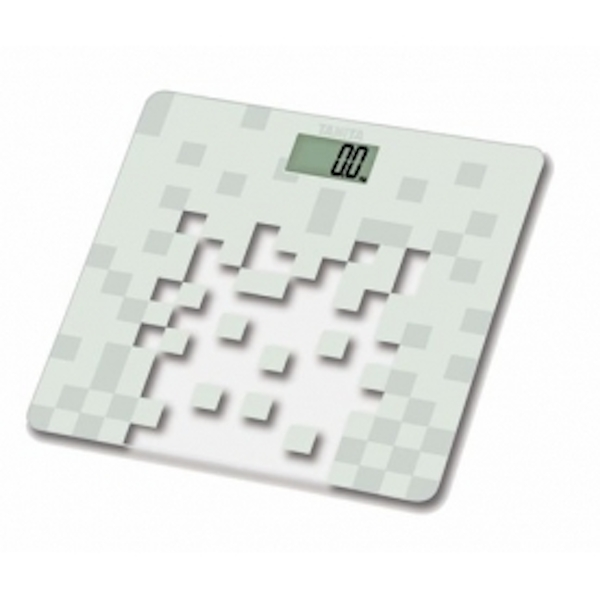 Tanita HD380WH	 Glass Digital Bathroom Scale White