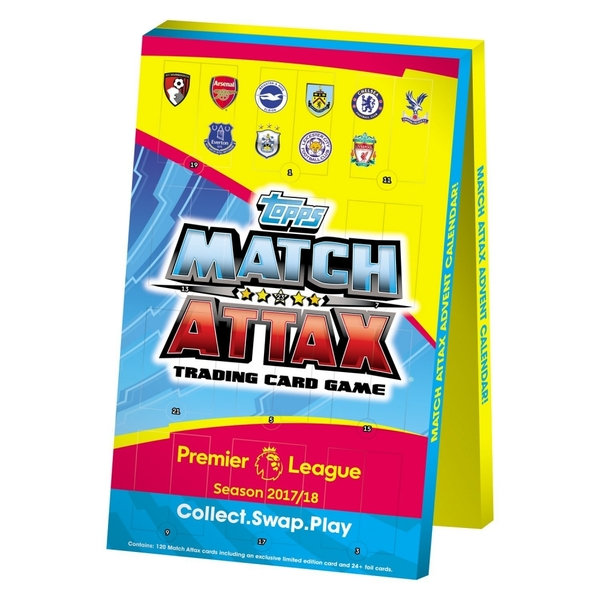 EPL Match Attax 2017/18 Trading Card Advent Calendar - Image 1