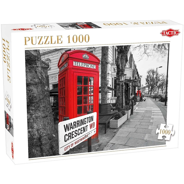 London 1000 Piece Jigsaw Puzzle - Image 1