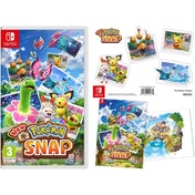 New Pokemon Snap Nintendo Switch Game (with Poster and Sticker Sheet)