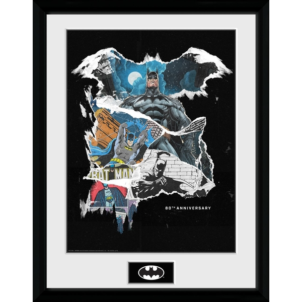 Batman - Comic Rip Collector Print