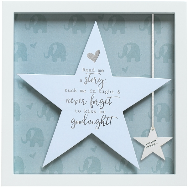 Said with Sentiment Star Frames Never Forget