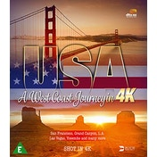 USA - A West Coast Journey in 4K Blu-ray