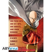 One Punch Man - Training - Poster Maxi Poster