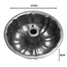 Fluted Non-Stick Ring Cake Tin | M&W - Image 3