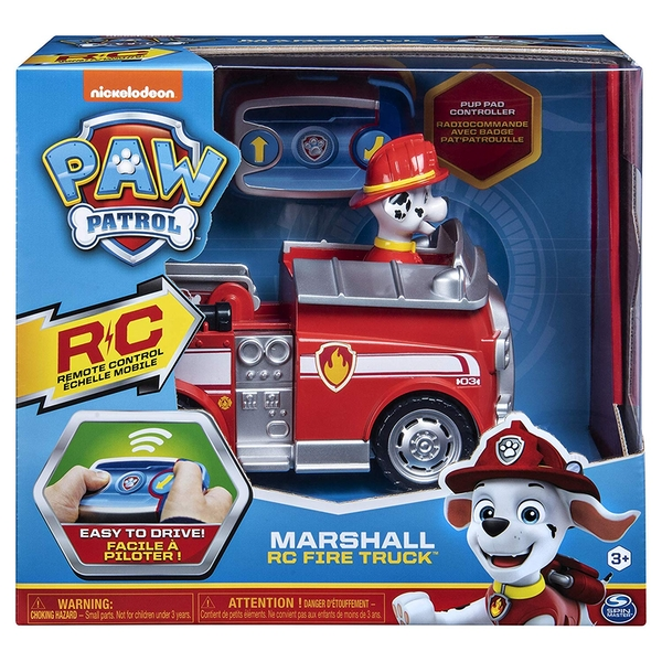 Paw Patrol Remote Control Marshall Fire Truck