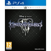 Kingdom Hearts III Deluxe Edition PS4 Game (+ Badge Set)