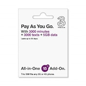 Three All in One SIM 5GB