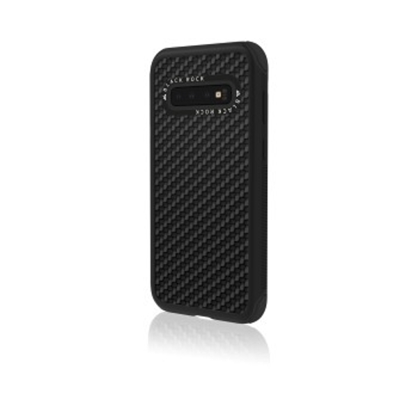 Black Rock Robust Case Real Carbon for Samsung Galaxy S10 Black [2090RRC02]