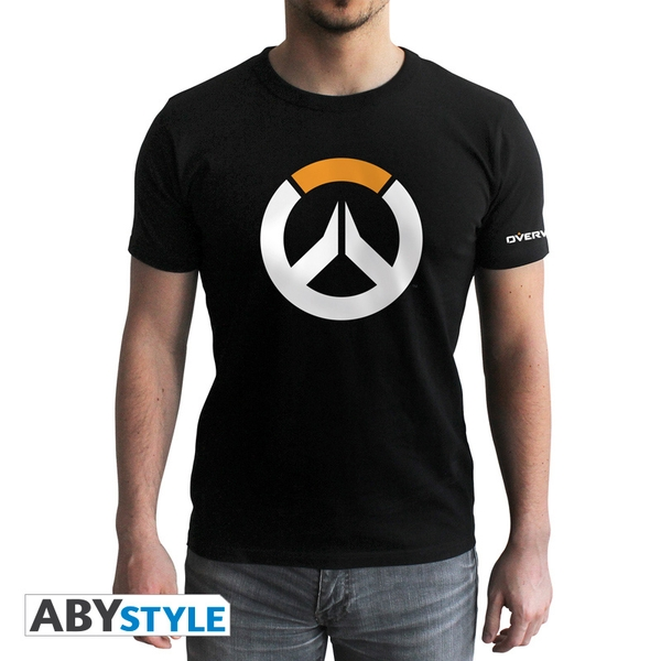 Overwatch - Logo Men's Large T-Shirt - Black - Image 1