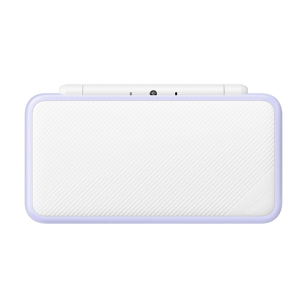New Nintendo 2DS XL White and Lavender Console Pre-installed with Tomodachi Life (UK Plug) - Image 3