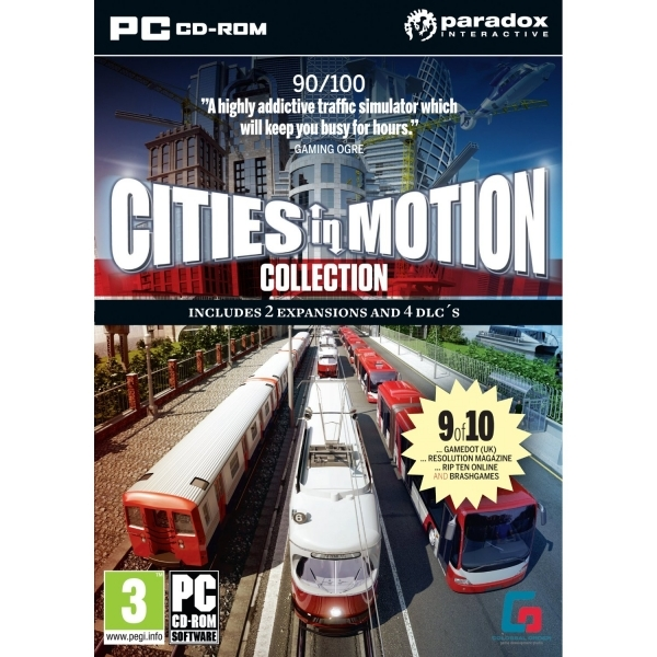Cities In Motion World Edition Game PC