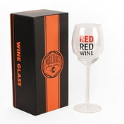 Musicology Wine Glass - Red Red Wine