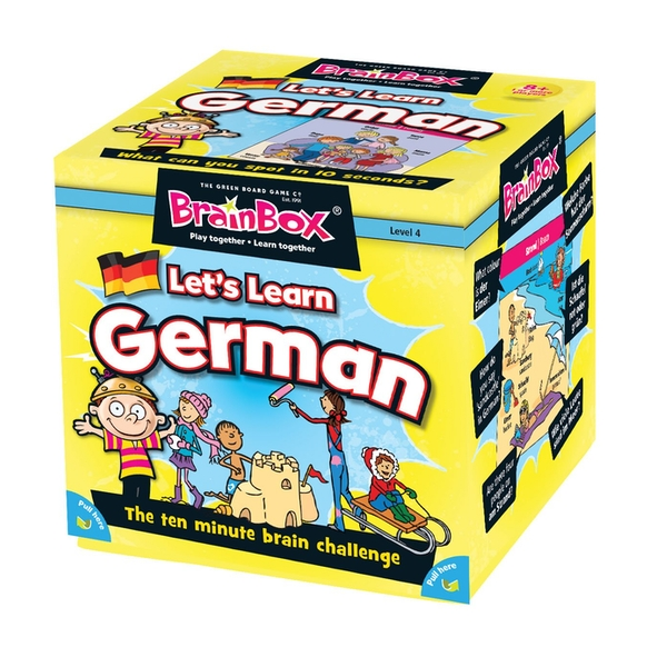 BrainBox Let's Learn German Card Game