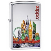 Zippo Classic London High Polish Chrome