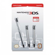 Officially Licensed 3 Pack Retractable Stylus (Nintendo 3DS)
