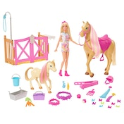 Barbie Groom and Style Horse Playset