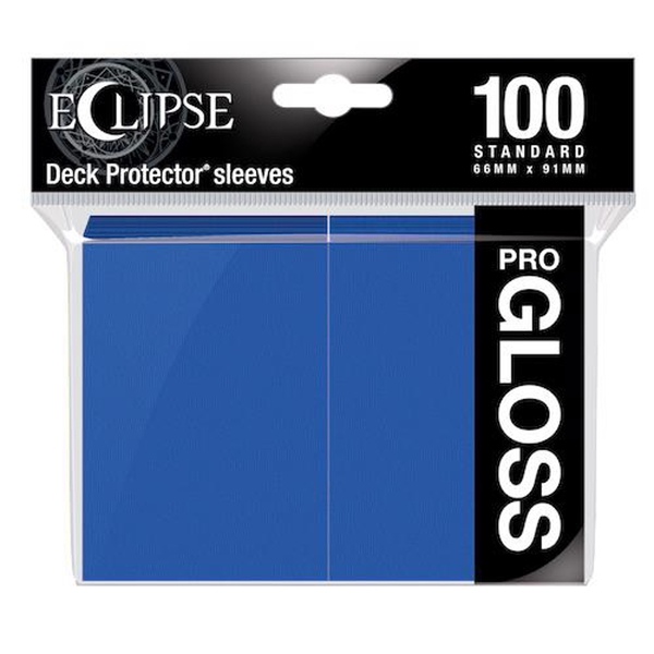Ultra PRO Gloss Standard Sleeves: Pacific Blue - 100 Sleeves