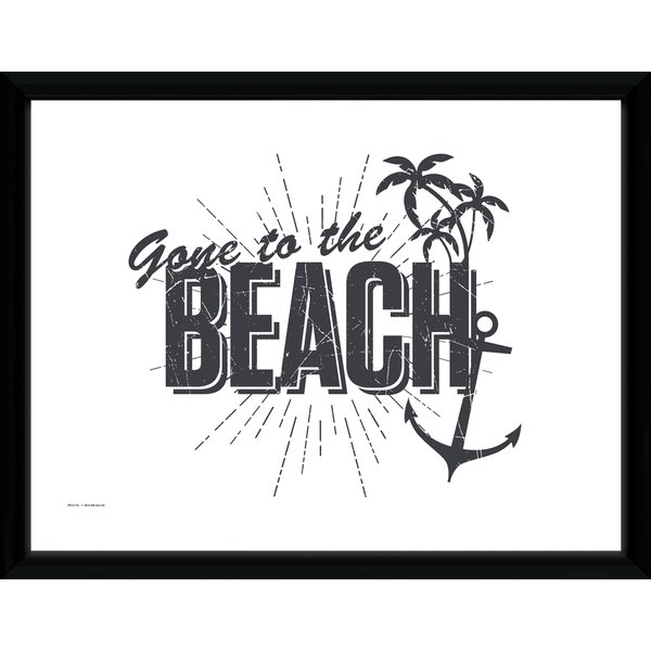 tropical home decor uk tropical gone to the beach framed collector print 365games co uk  tropical gone to the beach framed