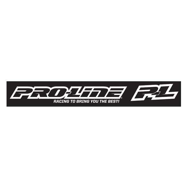 Cml Pro-Line White Window Decal