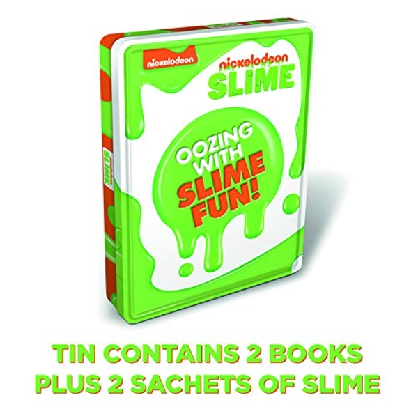 Nick Slime Fest Tin of Books  Mixed media product 2018