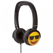 Groov-e EarMOJI's Stereo Headphones Cool Face