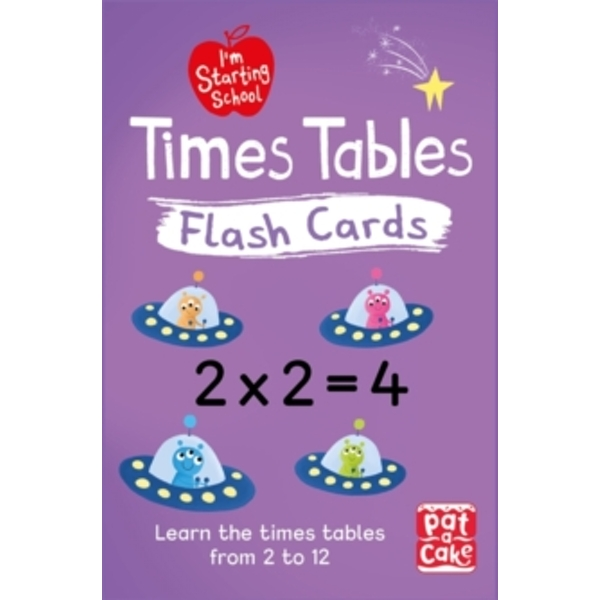 I'm Starting School: Times Tables Flash Cards : Essential flash cards for times tables from 1 to 12