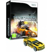 Transformers Dark of the Moon Stealth Force Edition Game + Toy Car Wii