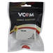 VCOM RJ11 (F) to 2 x RJ11 (F + F) White Retail Packaged ADSL Micro Filter Splitter Adapter - Image 2