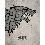 Game of Thrones - Stark Canvas
