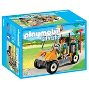 Playmobil City Life Zookeeper's Cart