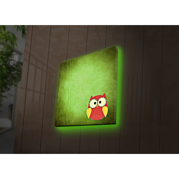 4040DACT-43 Multicolor Decorative Led Lighted Canvas Painting