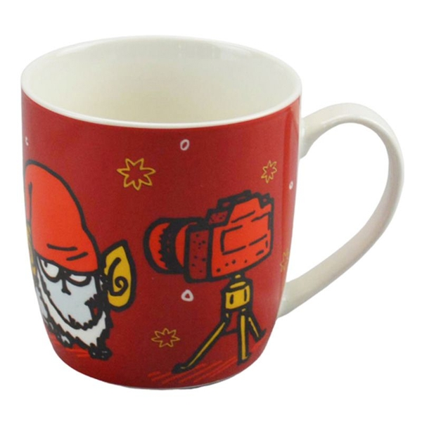 Simon & Cat Christmas Porcelain Mug
