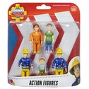 Ex-Display Fireman Sam 5 Figure Action Pack Used - Like New