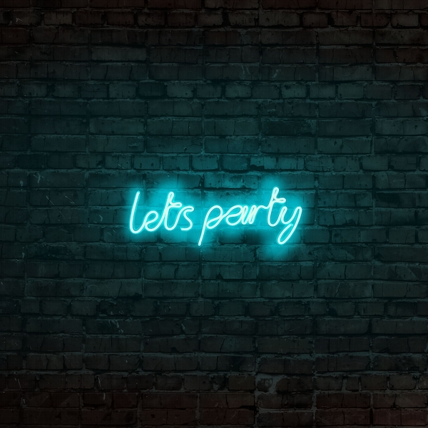 Lets Party - Blue Blue Wall Lamp
