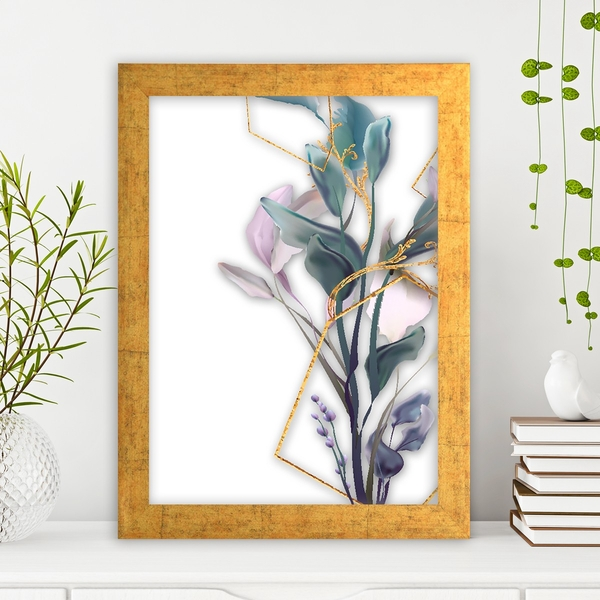 AC14815624825 Multicolor Decorative Framed MDF Painting