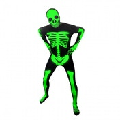 Premium Morphsuit Skeleton Glow X-Large