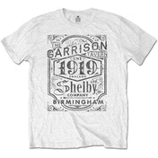 Peaky Blinders - Garrison Pub Men's Medium T-Shirt - White